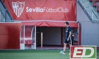 Entrenamiento del Sevilla (17/10/2019)
