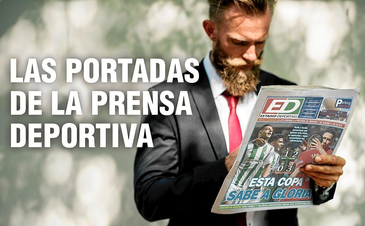 Las portadas de la prensa deportiva del viernes 18 de octubre