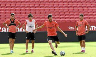 Entrenamiento del Sevilla F.C. (19/10/2019)