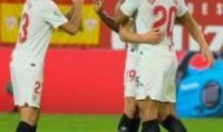 Las imágenes del Sevilla F.C.-Levante
