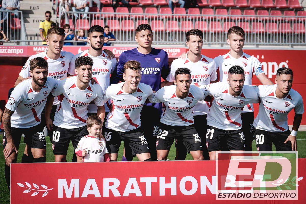 Las imágenes del Sevilla Atlético-UCAM Murcia