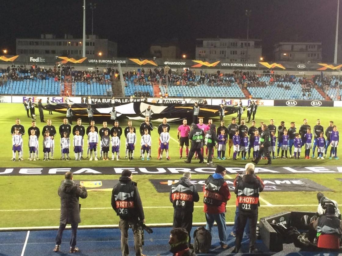 Las imágenes del Dudelange-Sevilla FC