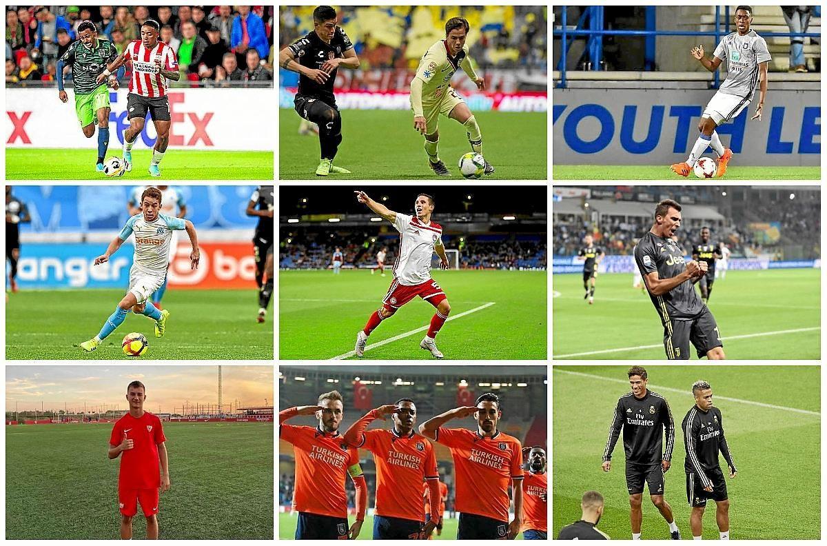 Jugadores 'vinculados' con el Sevilla FC