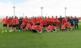 Entrenamiento del Sevilla (13/11/19)