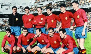 Camisetas con las que España jugó la Eurocopa
