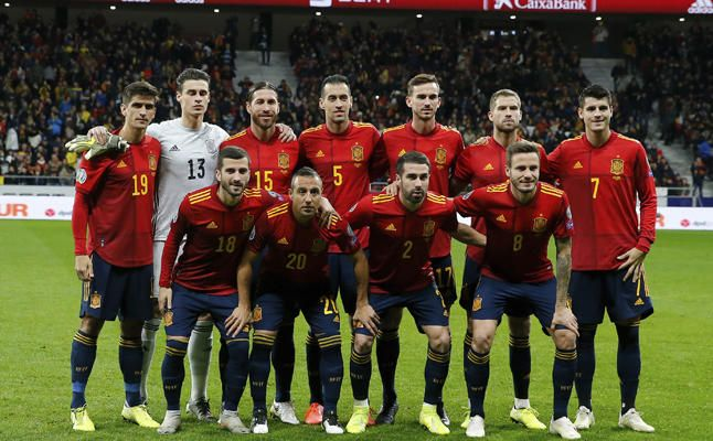 Las mejores imágenes del España 5-0 Rumanía