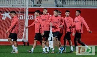Entrenamiento del Sevilla FC (03/12/2019)