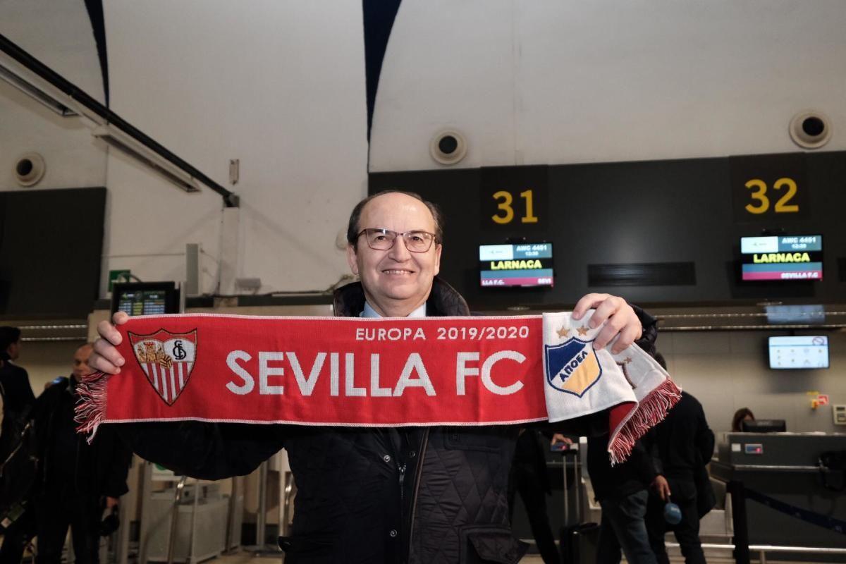 Salida de Sevilla a Chipre