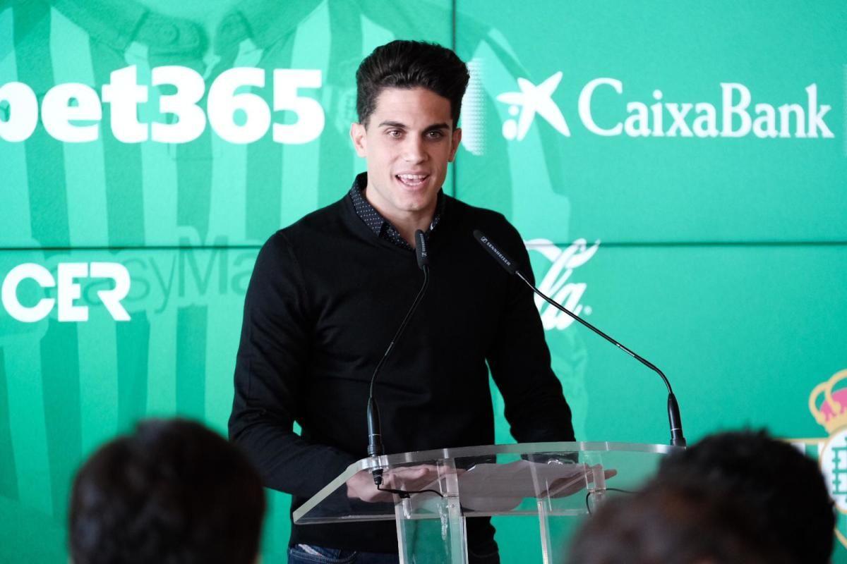 Las imágenes de la presentación de Carles Aleñá con el Real Betis