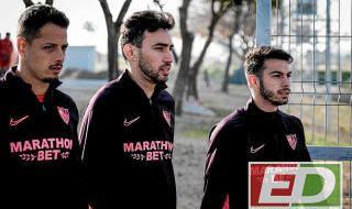 Entrenamiento Sevilla FC (13-01-2020)