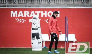 Entrenamiento del Sevilla FC (23/1/20)