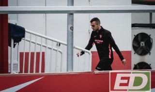 Entrenamiento del Sevilla FC (24/1/2020)