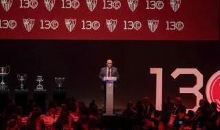 Gala 130 años y comida del Sevilla FC