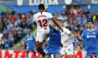 Las imágenes del Getafe-Sevilla F.C. (0-3)