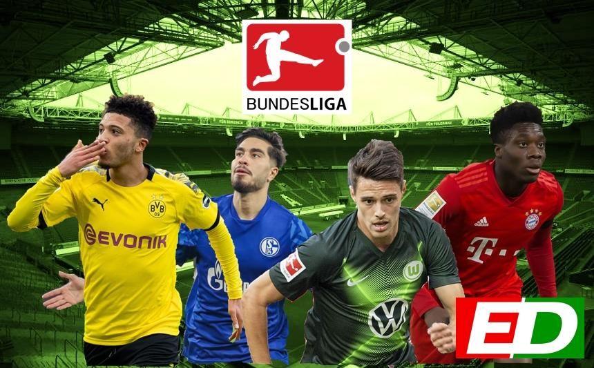 Las jóvenes promesas de la Bundesliga.