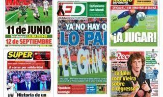 Portadas de la prensa deportiva hoy 30 mayo 2020