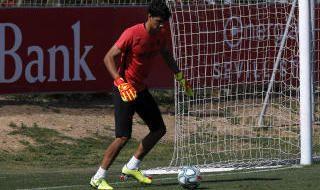 Entrenamiento del Sevilla (3/6/2020)