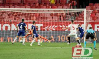 Las imágenes del Sevilla FC-Valladolid