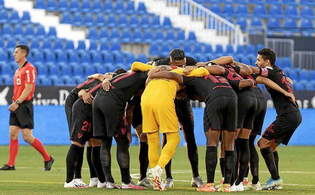 Las notas del Sevilla FC ante el Leganés
