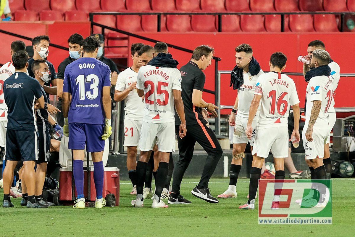 Las notas del Sevilla FC ante el Mallorca