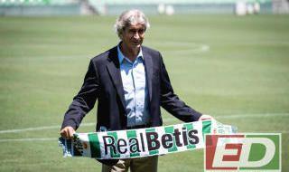 La presentación de Pellegrini con el Betis