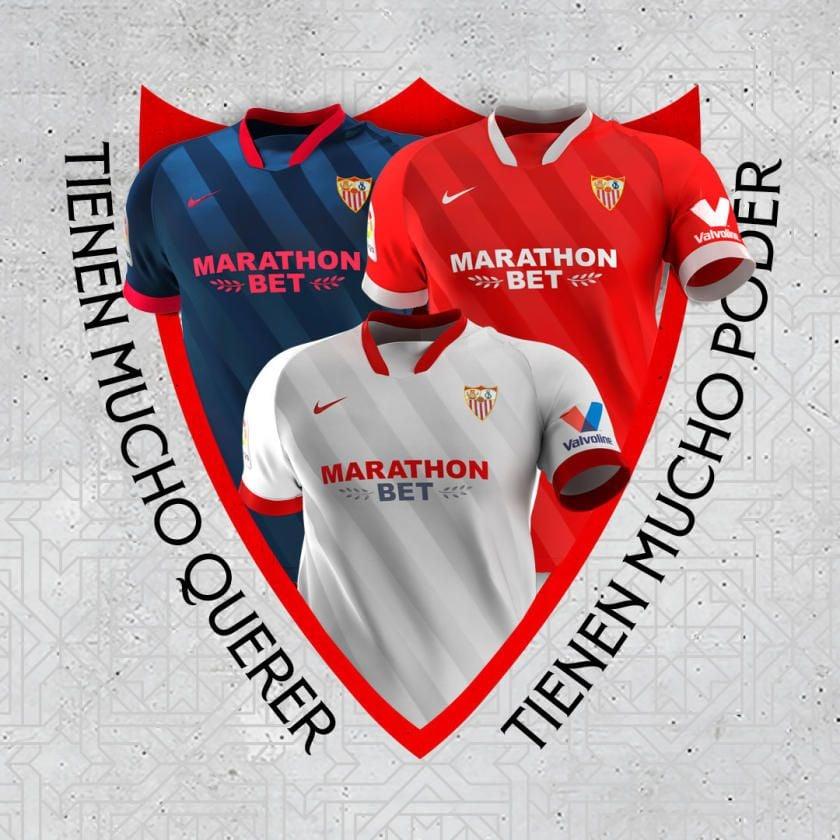 Así son las nuevas camisetas del Sevilla FC 20/21