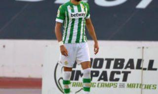 Las imágenes del amistoso Real Betis-Granada