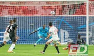Las imágenes del Sevilla FC-Stade Rennais