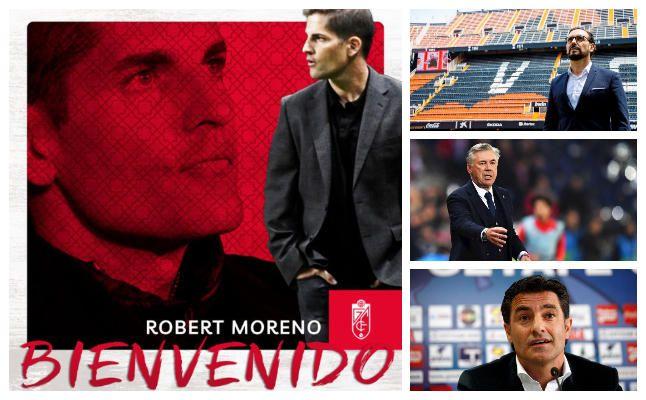 Robert Moreno, el último en encontrar banquillo