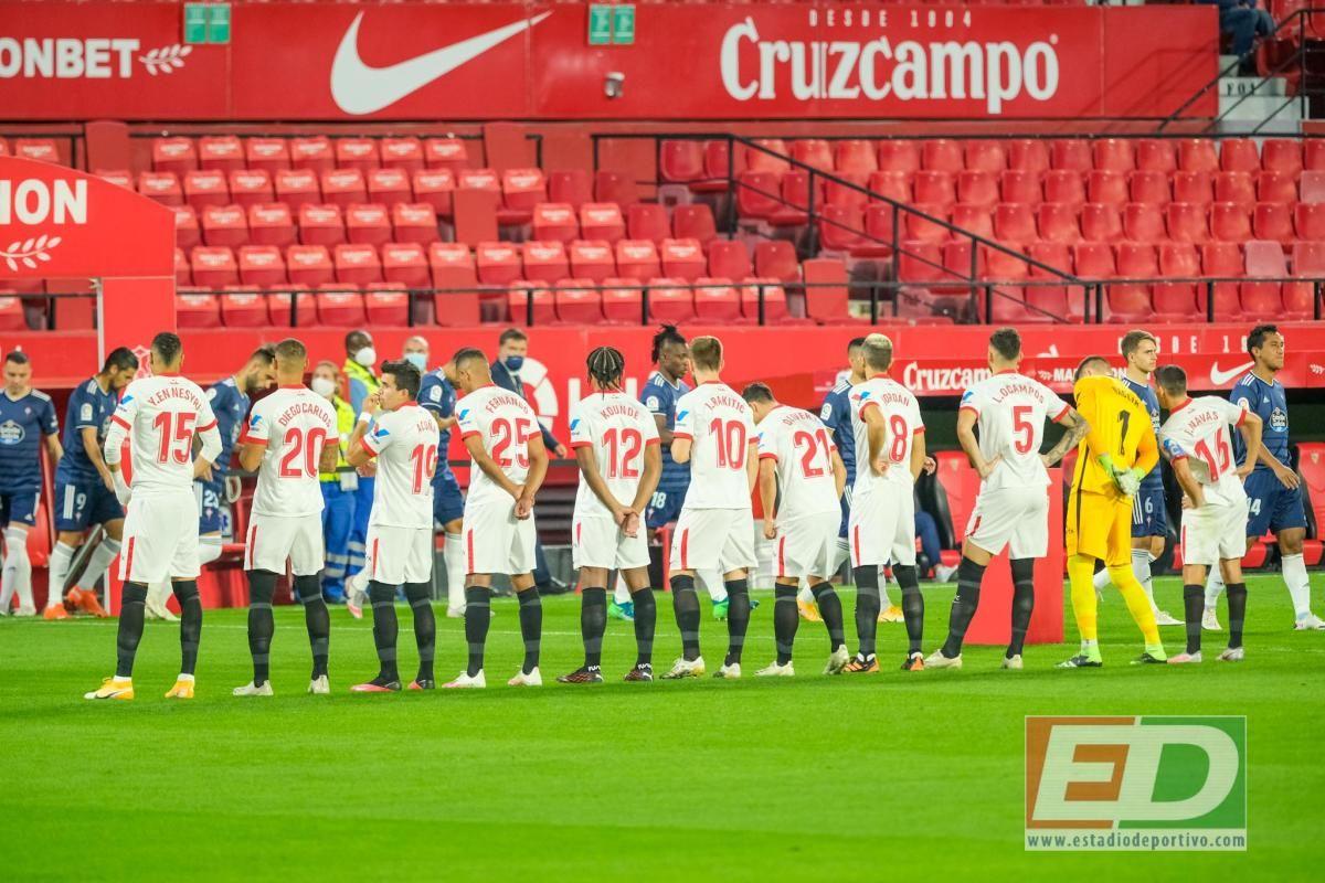 Las imágenes del Sevilla FC-RC Celta
