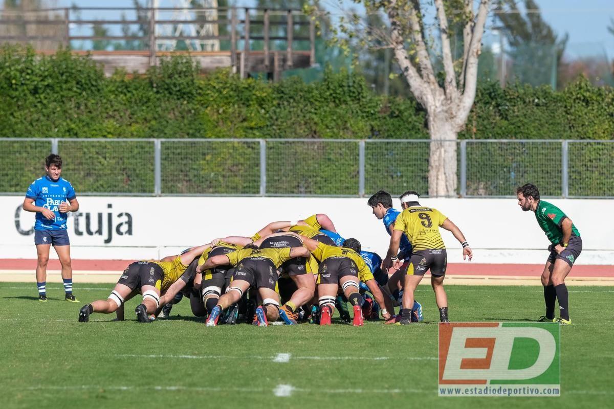 Las mejores imágenes el Ciencias Olavide-Getxo Rugby