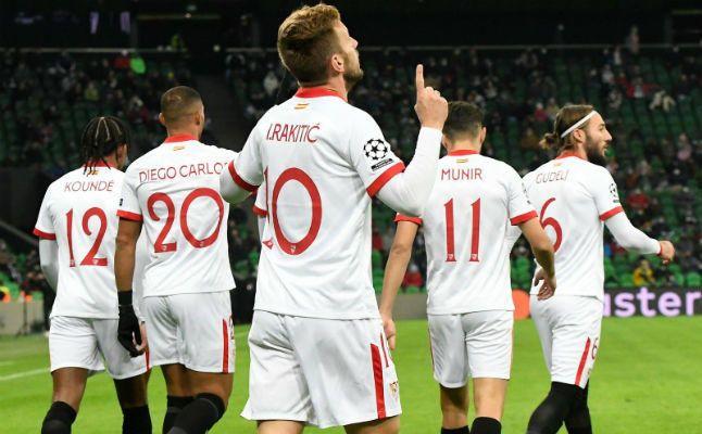 Las notas del Sevilla ante el Krasnodar