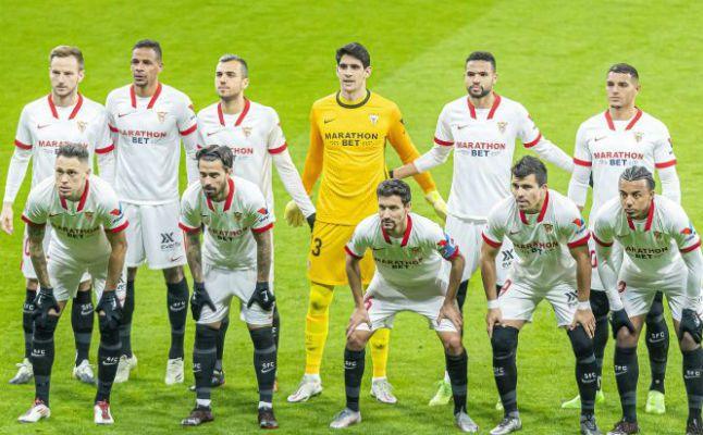 Las notas de los jugadores del Sevilla ante el Atlético