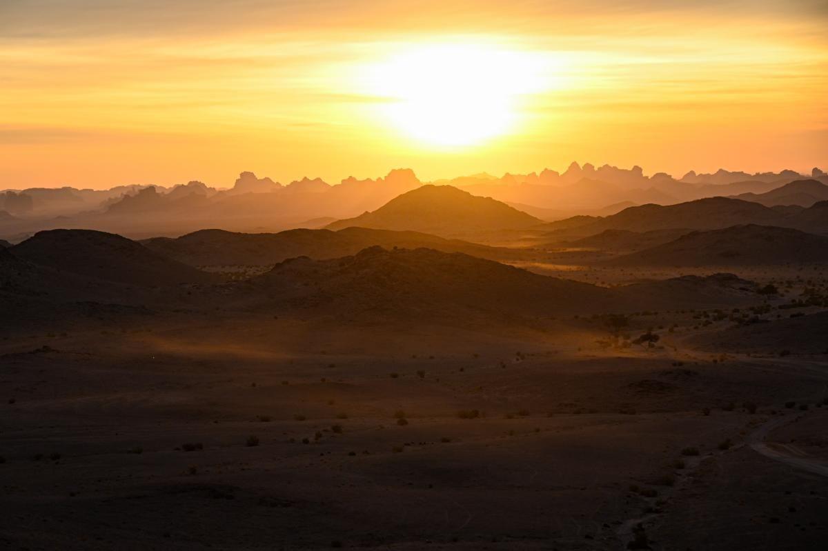 Las imágenes más espectaculares de la etapa 10 del Dakar