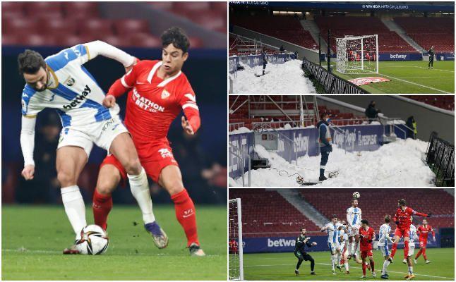 Las mejores imágenes del Leganés-Sevilla de Copa del Rey