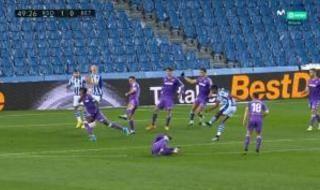 Las imágenes de la polémica en el Real Sociedad-Betis