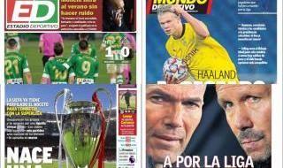 Las portadas del sábado 20 de febrero
