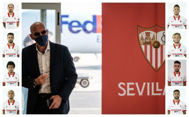 Las cláusulas de la plantilla del Sevilla FC