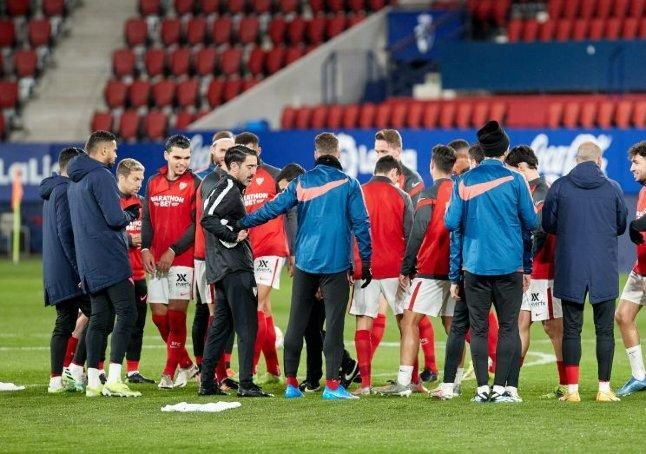 Las imágenes del Osasuna 0-2 Sevilla F.C.