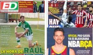 Las portadas del miércoles 24 de febrero