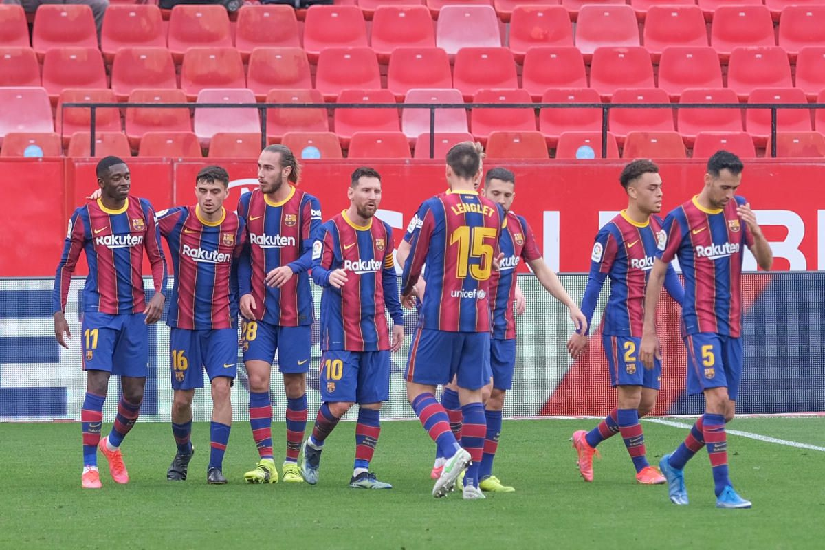 Las notas del Barça contra el Sevilla