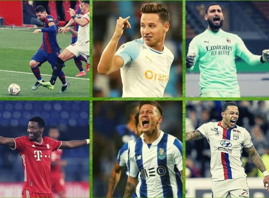 Top 10 de jugadores que acaban contrato, con objetivos sevillistas