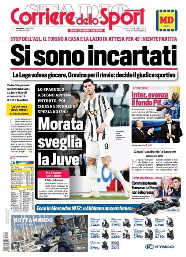 Las portadas de la prensa deportiva hoy miércoles