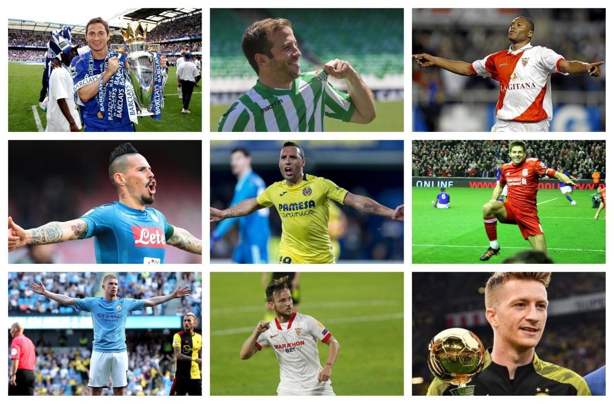 Los centrocampistas más goleadores del siglo XXI