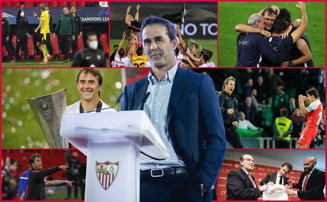 Los mejores momentos de Lopetegui en el Sevilla