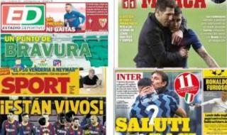 Las portadas del lunes 12 de abril