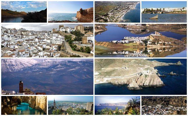 16 rutas andaluzas preferidas por los españoles