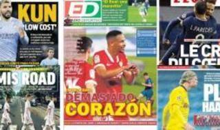 Las portadas del miércoles 14 de abril