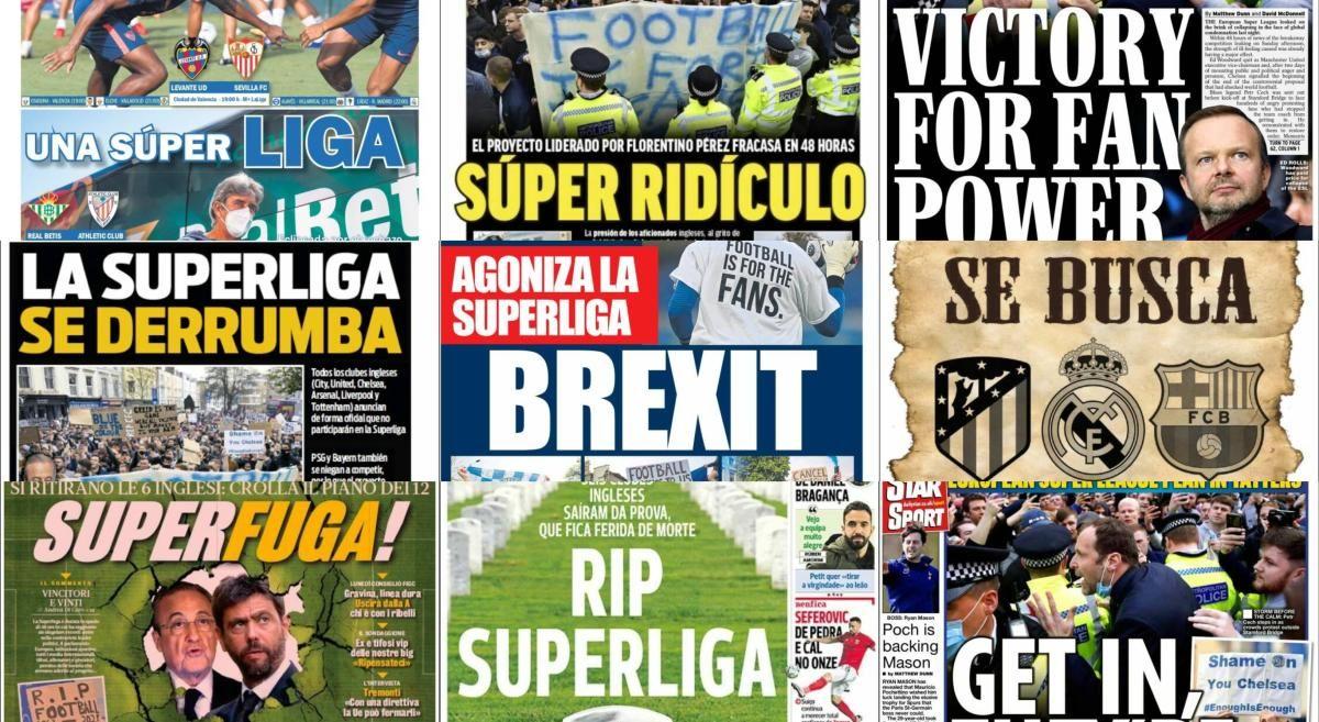 Las portadas del miércoles 21 de abril