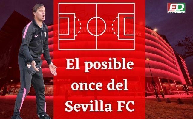El posible once del Sevilla FC ante el Athletic